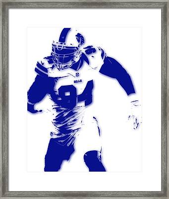 Buffalo Bills Mario Williams Framed Print
