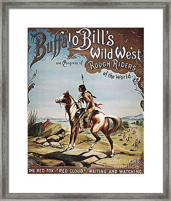 Buffalo Bills Show Poster Framed Print by Granger