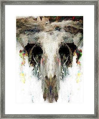 Buffalo Caves Framed Print by James VerDoorn
