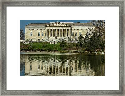 Framed Print featuring the photograph Buffalo Historical Society And Library by Don Nieman