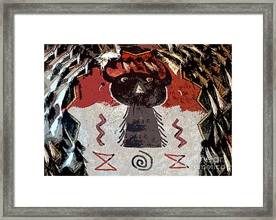 Buffalo Man Framed Print by David Lee Thompson