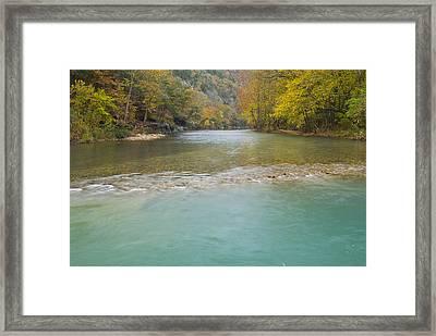 Buffalo River - 4589 Framed Print