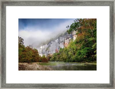 Buffalo River Autumn Framed Print