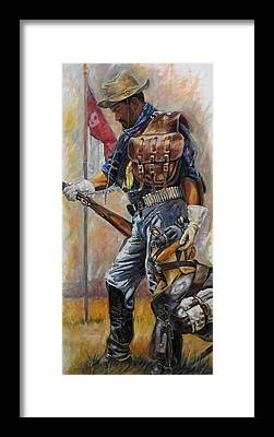 Soldier Framed Prints
