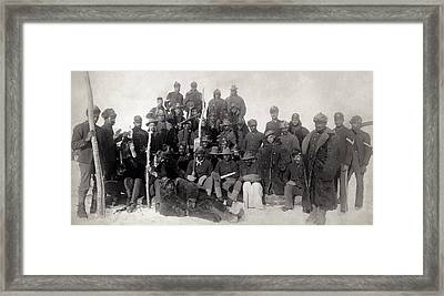 Buffalo Soldiers 1890 Framed Print