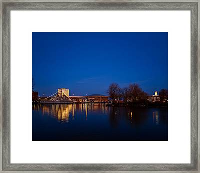 Buffalo Waterfront Twilight Framed Print