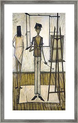 Buffet: Artist, 1948 Framed Print by Granger