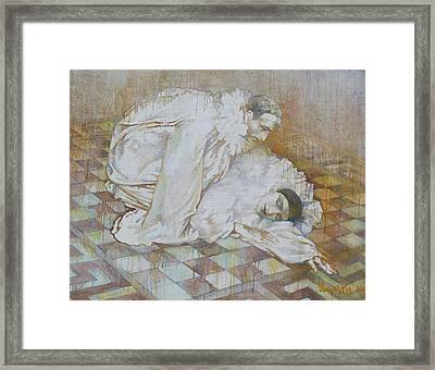 Buffoons Framed Print by Tanya Ilyakhova