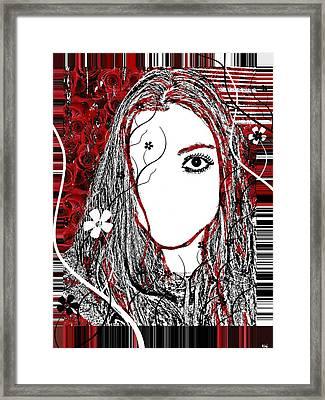 Bug Eye Framed Print