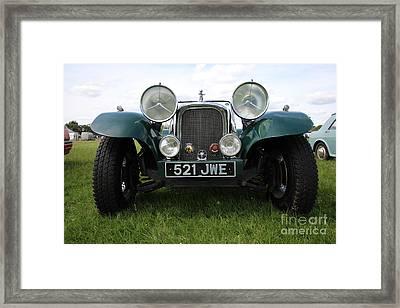 Bug Eye Jaguar Framed Print