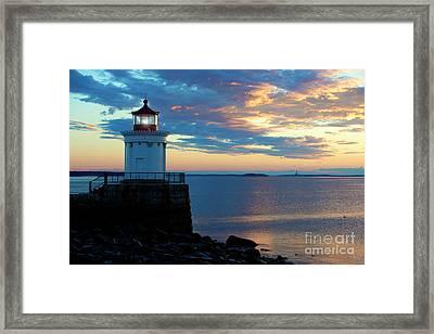 Bug Light, Portland Maine Framed Print