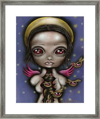 Bug Saint Framed Print by  Abril Andrade Griffith