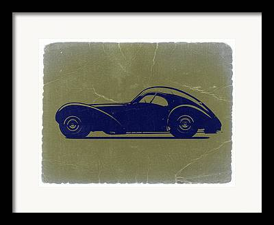 Bugatti 57 S Atlantic Framed Prints