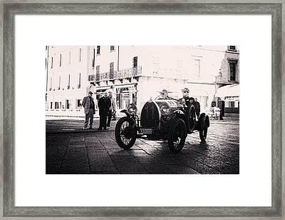 Bugatti Brescia Framed Print by Duschan Tomic