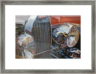 Bugatti Framed Print by Dennis Curry