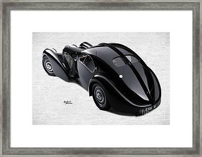 Bugatti  Framed Print by Garland Johnson