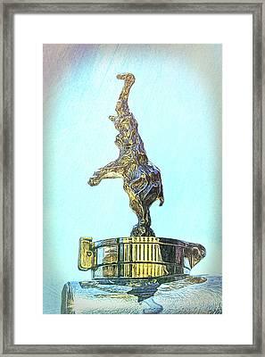 Bugatti Royale Mascot Framed Print