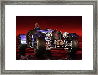 Bugatti Type 33 Framed Print