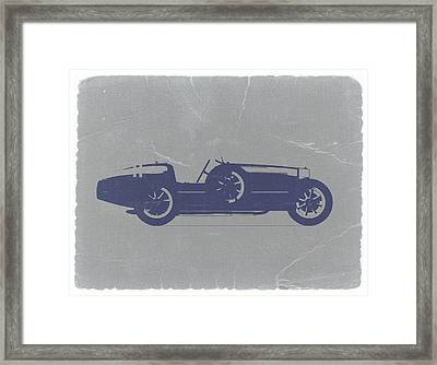 Bugatti Type 35 Framed Print by Naxart Studio