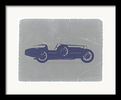 Bugatti Vintage Car Framed Prints