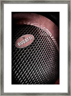 Bugatti Veyron Legand -0520ac Framed Print by Jill Reger