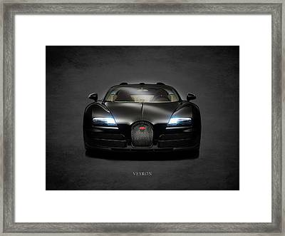 Bugatti Veyron Framed Print by Mark Rogan