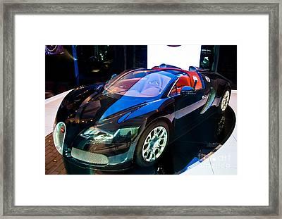 Bugatti Veyron Targa Framed Print