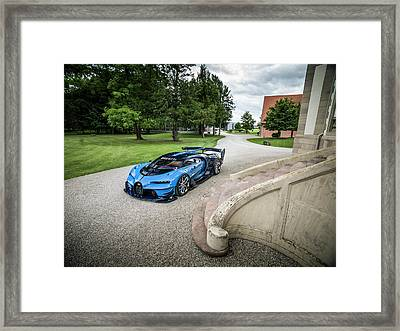 Bugatti Vision Gt Framed Print