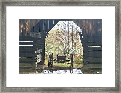 Buggy At Rest Framed Print