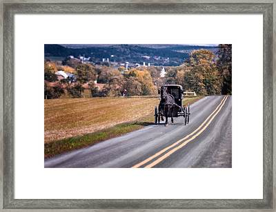 Buggy County Framed Print by Eduard Moldoveanu