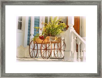 Buggy Planter Framed Print
