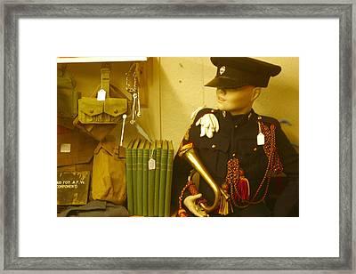 Bugle Boy 2 Framed Print by Jez C Self