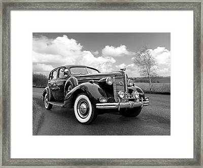 Buick 8 1938 Sedan Framed Print by Gill Billington