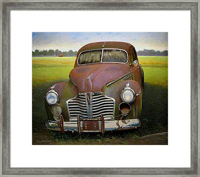 Buick Eight Framed Print by Doug Strickland