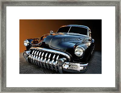 Buick Eight Sled Framed Print by Bill Dutting
