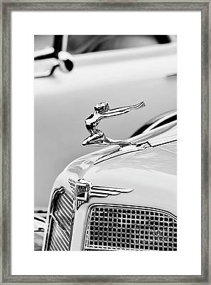 Buick Flying Lady Framed Print