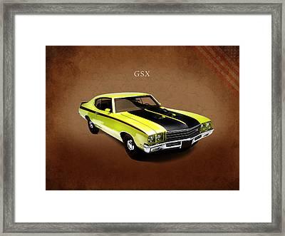 Buick Gsx 1971 Framed Print by Mark Rogan