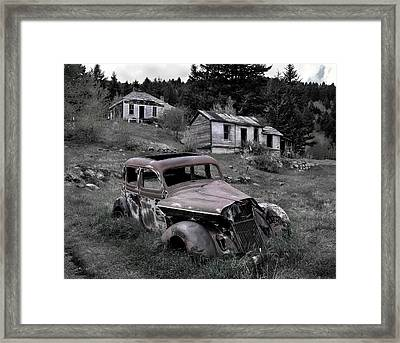 Buick Framed Print by Leland D Howard