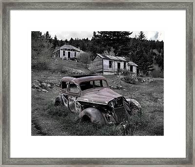 Buick Framed Print