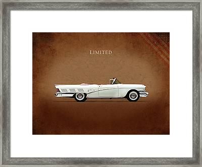 Buick Limited 1958 Framed Print