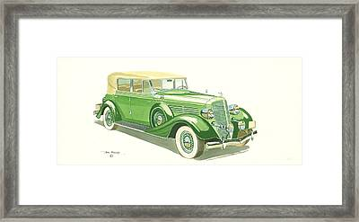 Buick Series 60 1935 Framed Print by John Kinsley