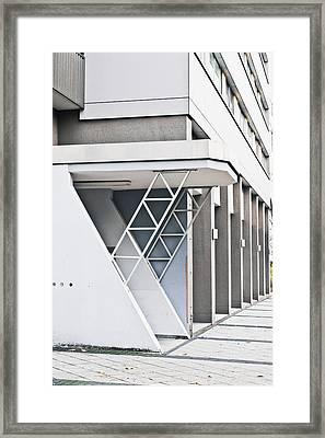 Buidling Exterior Framed Print by Tom Gowanlock