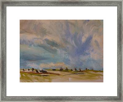 Circle C Ranch Framed Print by Helen Campbell