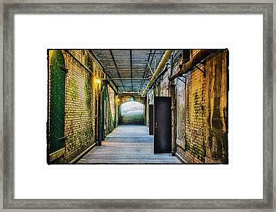 Building 64 Interior #2 - Alcatraz Island Framed Print by Jennifer Rondinelli Reilly - Fine Art Photography