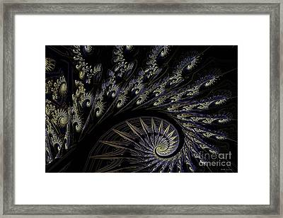 Building On Chaotic Thoughts Framed Print by Elizabeth McTaggart