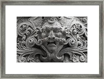 Building Ornamentation Pittsburgh Pa Framed Print by Amy Cicconi