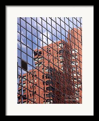 Architecture Textured Art Framed Prints