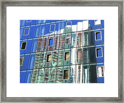 Building Reflections 9 Framed Print