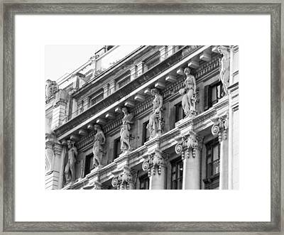 Framed Print featuring the photograph Building by Silvia Bruno