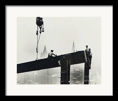 Steel City Framed Prints